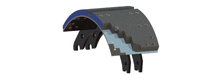B-Block Brake Lining