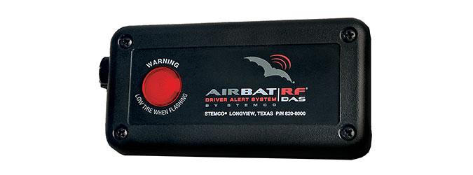 AirBAT RF DAS tire pressure monitoring sensor